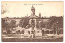 NICE  --  La Statue  De Garibaldi - Monumenten, Gebouwen