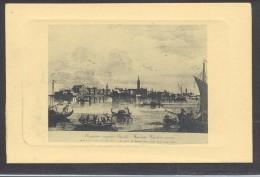9355-LA LAGUNA DI VENEZIA-ISOLA DI MURANO VERSO MEZZODI'-DA INCISIONI DEL 1700-FP - Venezia