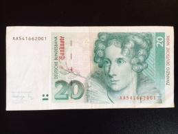 20  Deutsche Mark - Non Classés