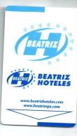 ESPAÑA HOTEL BEATRIZ  Spain Llave Clef Key Keycard Karte - Hotel Labels