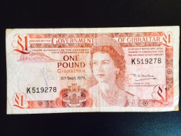 One Pound Gibraltar - Gibraltar
