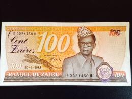 Zaïre 100 - Zaïre