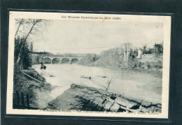 81 - Saint Sulpice La Pointe : Inondations Du Midi  1930 - Pont Suspendu ... - Saint Sulpice