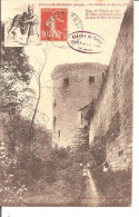 COUCY LE CHATEAU   Le Chemin De Ronde (II) No 9 Ecrit Rouge - France