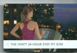 ESPAÑA HOTEL HYATT FIT GYM Llave Clef Key Keycard Karte - Hotel Labels