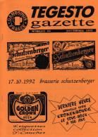 Bulletin Du Club De Collectionneurs Gambrinus France N°44 (Biere & Brasserie) De L´année 92 - Non Classés