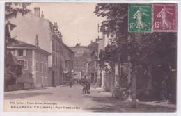 Beaurepaire Rue Gambetta - Beaurepaire