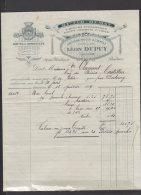 33 - Bordeaux - Léon Dupuy - Bitter Demay - Rhums & Spiritueux + Bordereau De Paiement - 1919 - Frankreich