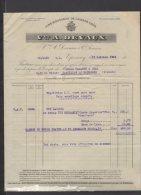 51 - Epernay - Vve A. Devaux - Vins Mousseux De Grands Crûs + Bordereau De Paiement - 1921 - Frankreich