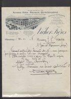 73 - Chambéry - Vicher Frères - Aciers Fers Métaux Quincaillerie - 1928 - Frankreich