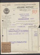 55 - Bar Le Duc - Ateliers Mottant - Constructions Métalliques - 1936 - Frankreich
