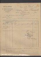 16 - Cognac - P. Bournier - Vins Et Liqueurs - 1914 - France