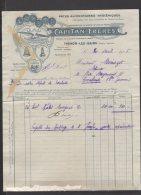 74 - Thonon Les Bains - Capitan Frères - Pates Alimentaires Hygiéniques - 1915 - France