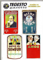 Bulletin Du Club De Collectionneurs Gambrinus France N°92 (Biere & Brasserie) De L´année 2004 - Non Classés