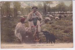 Landes - Berger Filant à L'aide Du Rouet - Non Classés