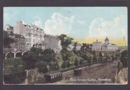Union Terrace Gardens, Aberdeen, Scotland, Posted With Stamp, Q8. - Aberdeenshire