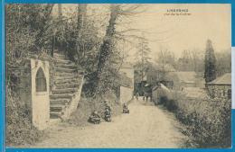 Linkebeek (gelopen Kaart) - Rue De La Cuiller - Linkebeek
