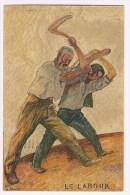 1/1. Thème:  Bundesfeier 1927 Agriculture  = Labour.  Zürich 21.2.1927. - Landwirtschaft