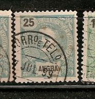 Portugal & Angra, D. Carlos I, 1897 (16) - Angra