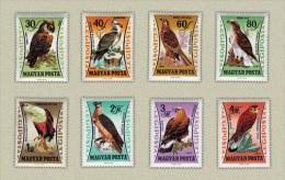 Hungary 1962. Animals / Birds Set MNH (**) Michel: 1881-1888 / 8.50 EUR - Non Classés