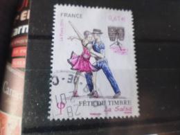 FRANCE OBLITERATION RONDE   FETE DU TIMBRE 2014 SALSA 4904 - France