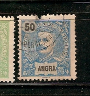 Portugal &  Angra, D. Carlos I, 1898-1905 (29) - Angra