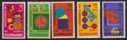 1250(9). Suriname, 1972, Children, MNH (**) Michel 638-642 - Surinam