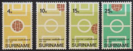 1250(10). Suriname, 1970, 50 Years Of Football Association, MNH (**) Michel 584-587 - Surinam