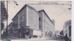 Dauphiné - St-Marcellin - Le Collège De Garçons Et Le Boulevard Du Champs De Mars - Saint-Marcellin