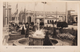 España--Barcelona--1929--Juegos De Agua--Exposicion Internacional De Barcelona-- - Exposiciones