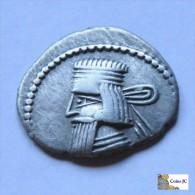 Imperio Parto - Dracma - Artabanus III - 80/90 DC - Grecques