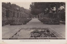 España--Barcelona--1929--Jardines Laribal--Exposicion Internacional De Barcelona-- - Exposiciones