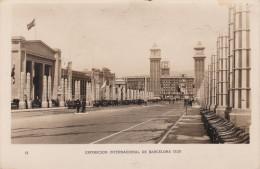 España--Barcelona--1929--Avenida Reina Maria Cristina--Exposicion Internacional De Barcelona - Exposiciones