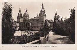 España--Barcelona--1929--Palacio Nacional Desde Los Jardines--Exposicion Internacional De Barcelona- - Exposiciones