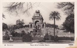 España--Barcelona--1929--Parque De La Ciudadela--Cascada-- - Exposiciones