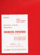 BUVARD - SOLURUTINE PAPAVERINE - Labo. DAUSSE - Hypertension Artérielle Déséquilibrée - Produits Pharmaceutiques