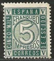 España 93 (*) - 1850-68 Kingdom: Isabella II
