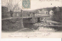 BEYNES (S ETO) LE PONT BARRA ET LE GUE DE LA MAULDRE 1904 - Beynes
