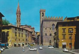 FIRENZE - Piazza S.Firenze - Campanile Di Badia E Palazzo Del Bargello - Auto - Firenze (Florence)