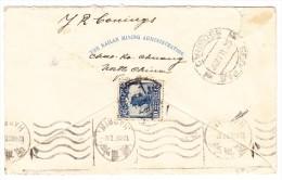 China Brief Von HARBIN 12.2.1927 10Cts. E.F. Gesendet Nach Beograd Jugoslawien AK-Stempel - 1912-1949 République