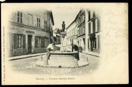 Cpa Du 95 Taverny Fontaine - Bacchus Enfant   JA15 58 - Taverny