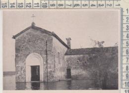 ARGENTA FERRARA CHIESETTA DELLA PIEVE ALLAGATA  1936 TRATTO DA RIVISTA, LIBRO O CATALOGO - Altri