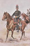 Chef D'Escadrons D' Artillerie 1887 Uniform Postcard (U15001) - Uniforms