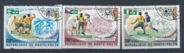HAUTE-VOLTA : PA Y&T N° 180 à 182  Vainqueyrs De La  Coupe Du Monde 1974 - Coppa Del Mondo