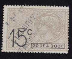 Effet De Commerce, Médaillon De Tasset, Voir Photo Recto-verso - Revenue Stamps