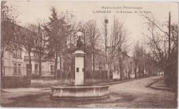 Cpa 1930,langeac,l´avenue De La Gare,fontaine,prés Brioude,ville De Mère Agnès De Jésus Dominicaine,rare - Langeac