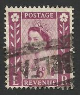 Northern Ireland, 6 P. 1958, Sc # 3, Mi # 2x, Used - Regional Issues