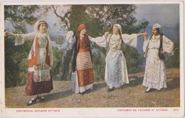 GRECE,GREECE,GRECIA,GRIEC HENLAND,ATHENES,ATHINA,AT HENAI,ATTIQUE,1917,FEMME, FILLE,PAYSANNE,PAYSAN,DAN CEUSE - Grèce