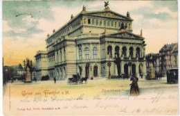 Cpa  GRUSS AUS FRANKFURT A.M. - Frankfurt A. Main