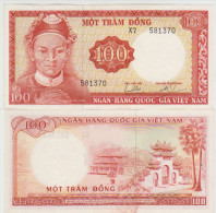 Vietnam South 100 Dong 1966 Pick 19b AUNC/UNC - Vietnam